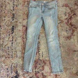 Girls A pocket 7 jeans